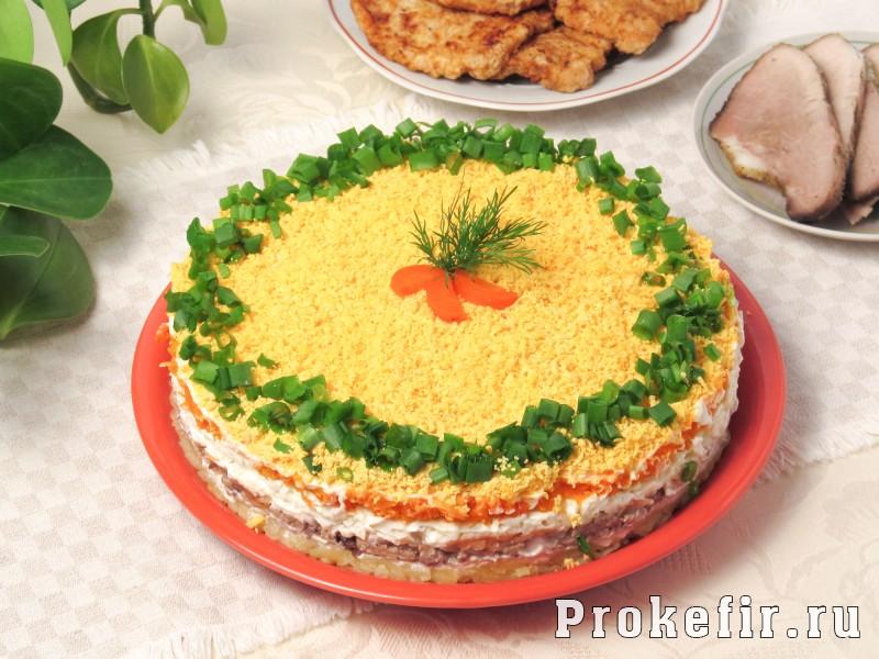 Рецепт мимоза с сыром и рисом рецепт