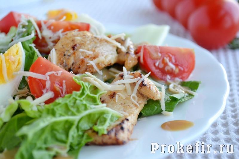 Салат курица с пекинской капустой рецепт классический