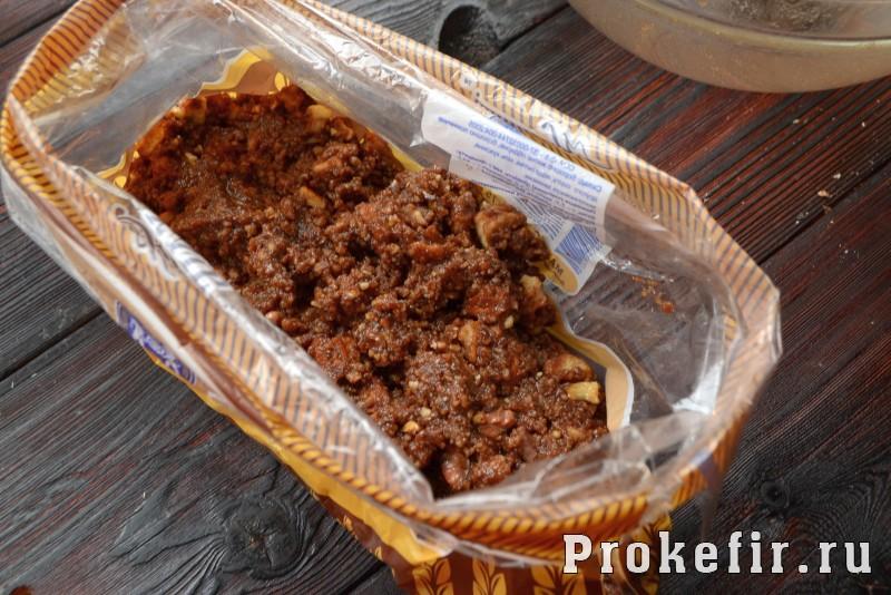 Шоколадная колбаса из печеня: фото 11