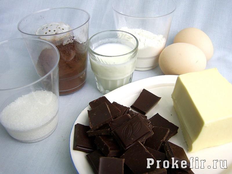 Шоколадный фондан: фото 10