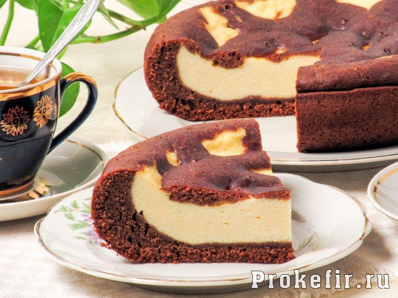 Шоколадный пирог в мультиварке на кефире