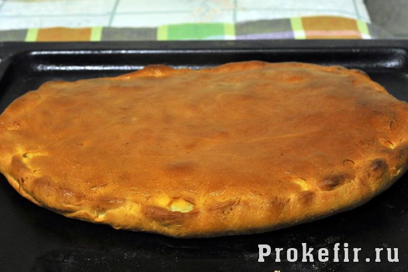Сладкий пирог на кефире: фото 7