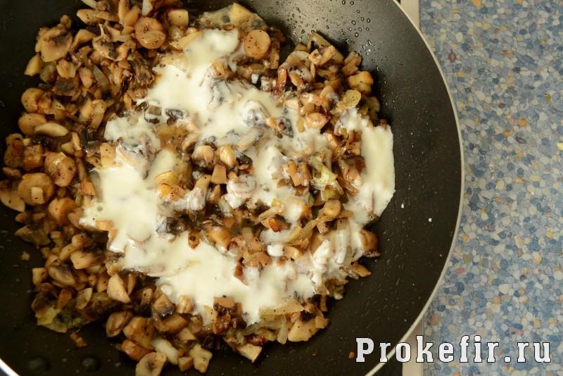 Сочные зразы картофельные с грибами и кефиром: фото 4