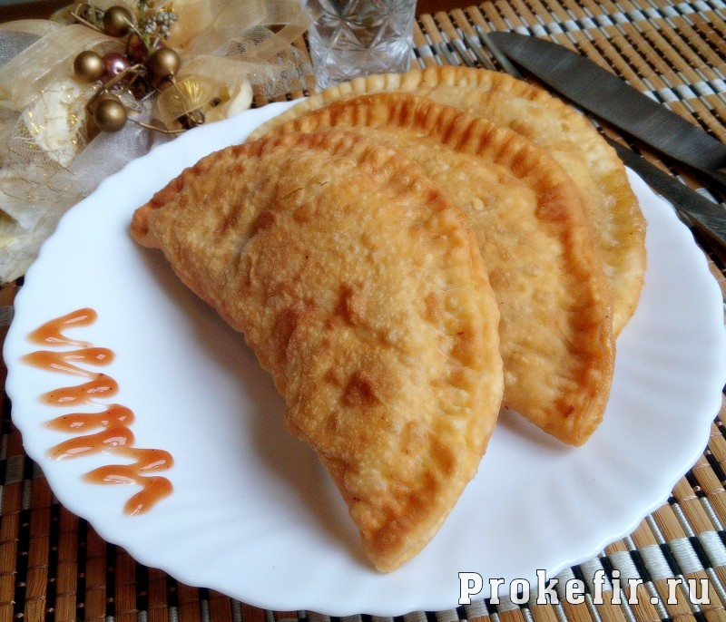 Хрустящее тесто для чебуреков на кефире рецепт