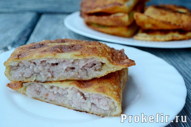 Тесто для чебуреков вкусное и хрустяшчее: фото 17