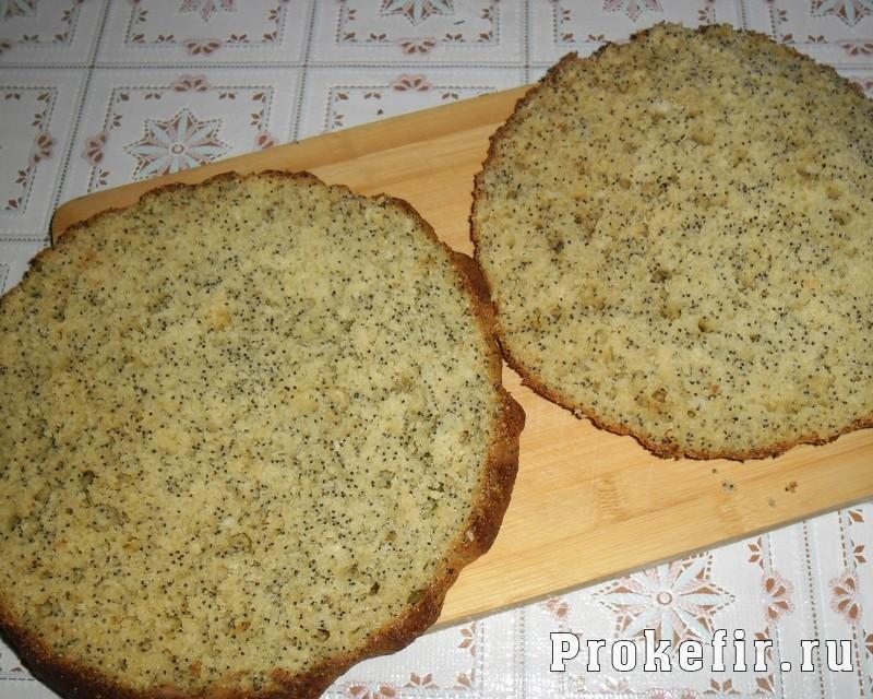 Коржи для торта на сметане