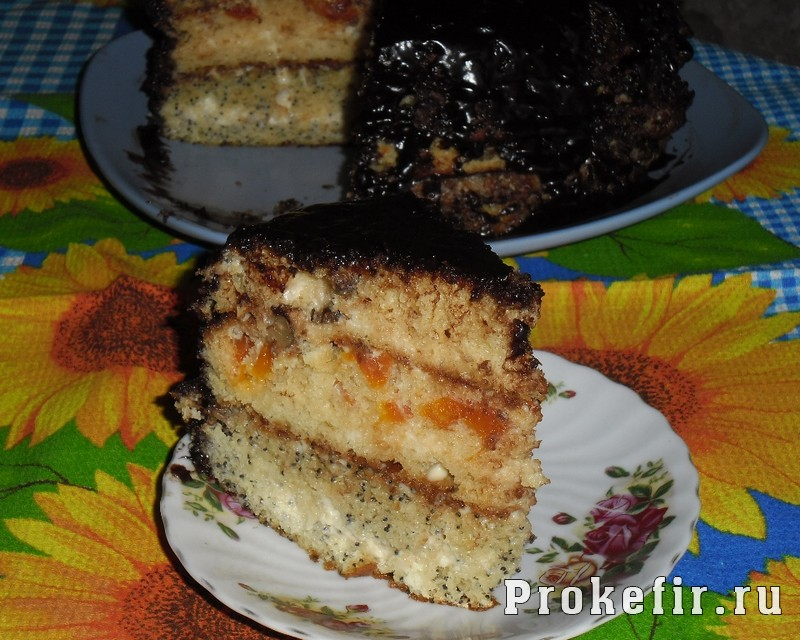 Торт Бедный еврей на кефире