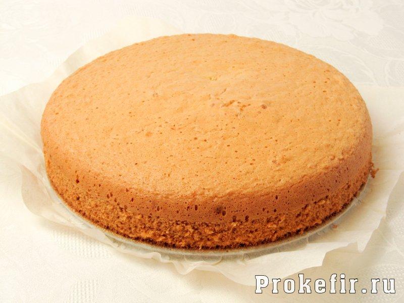 Торт чародейка в шоколадной глазури на кефире: фото 4