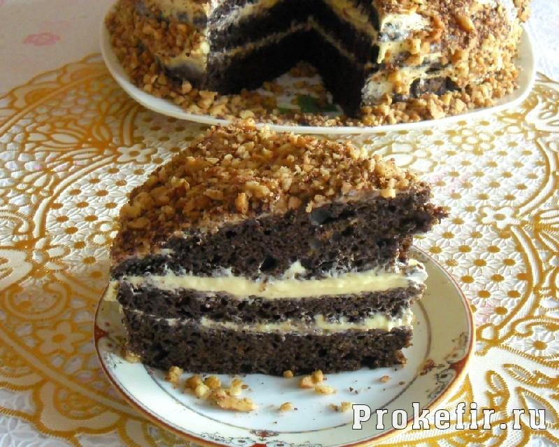 Рецепт торт фантастика на кефире