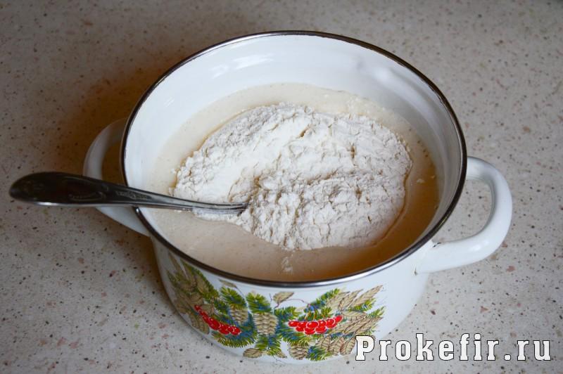 Торт из бисквита и желе на кефире с мандаринами: фото 4