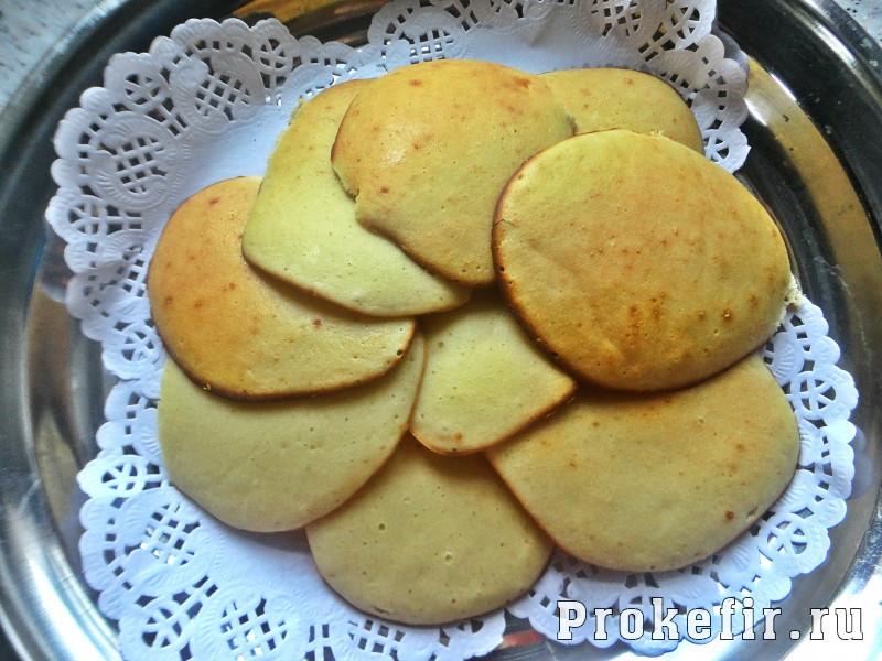 Торт из оладушек в духовке на кефире: фото 11