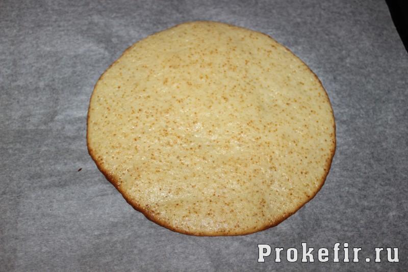 Торт молочная девочка на кефире: фото 12
