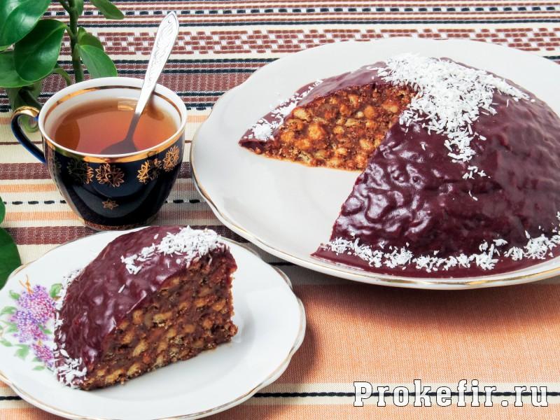Торт муравейнык из печеня без выпечки: фото 7