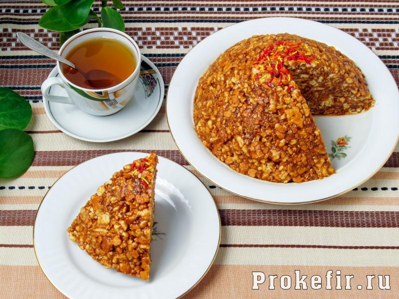 Торт муравейнык классический: фото 10