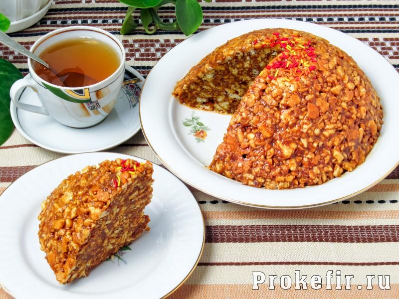 Торт муравейнык классический