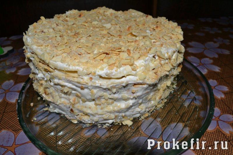 Торт наполеон на сковороде рецепт с заварным кремом: фото 16