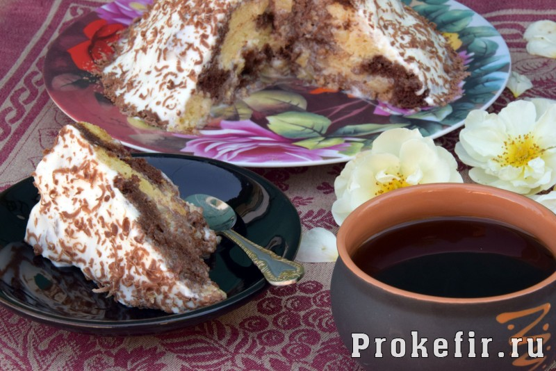 Торт панчо классическиы с ананасом