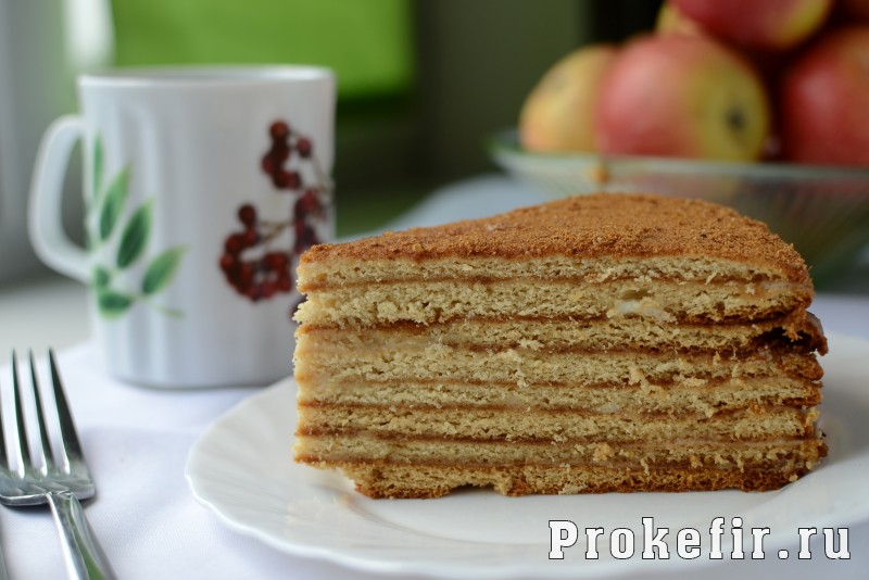 Торт рыжик классический