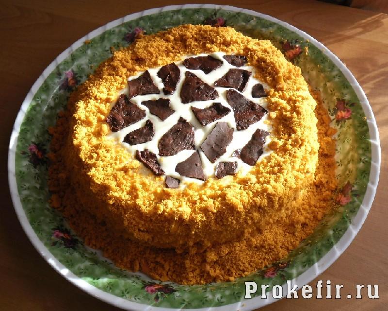 Торт Сахара на кефире