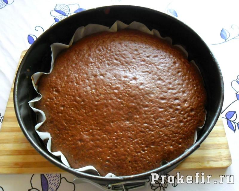 Торт со сметанным кремом на кефире: фото 13