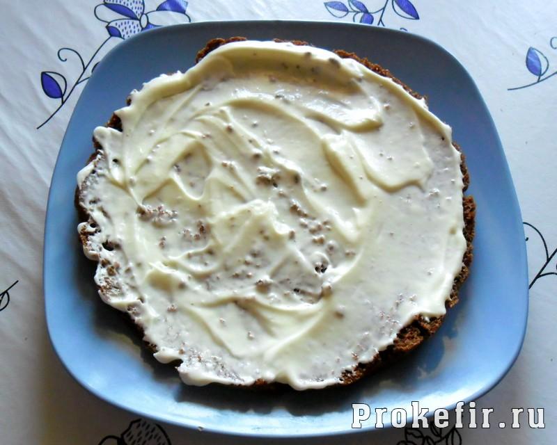 Торт со сметанным кремом на кефире: фото 18