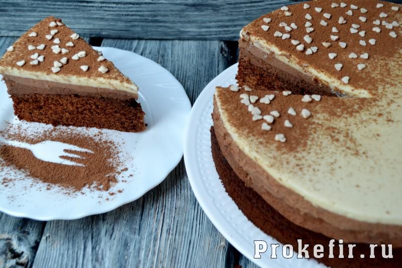 Торт три шоколада для детей без ликера: фото 23