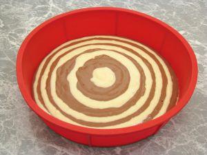 Пятый слой торта Зебра