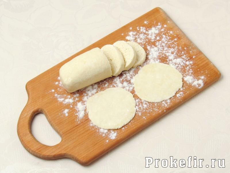 Творожное печенье треуголники на кефире: фото 4