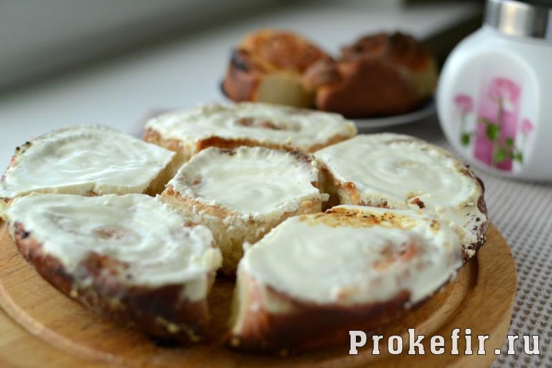 Творожные завитушки в сметанной заливке на молоке и кефире: фото 13