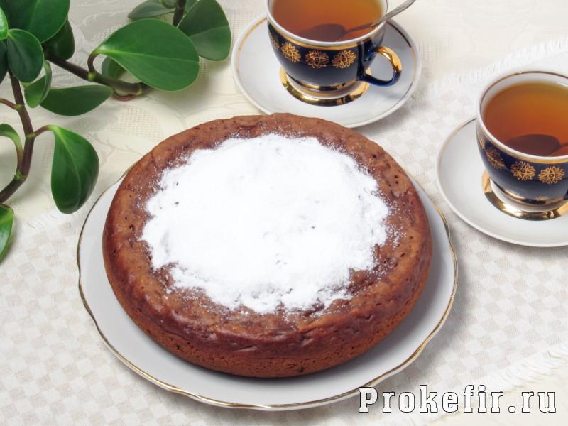 Тыквенный кекс в мультиварке с изюмом на кефире: фото 7