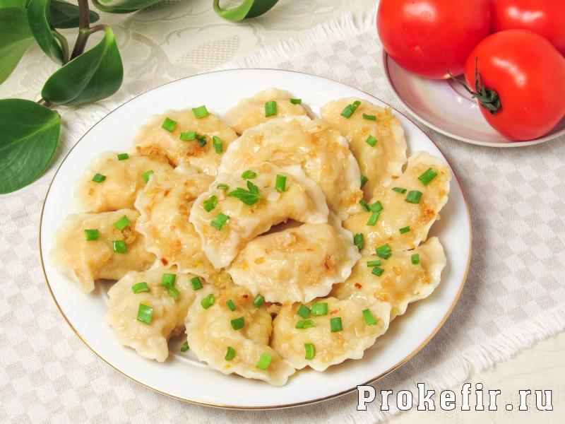 Вареники с сырой картошкой и мясом
