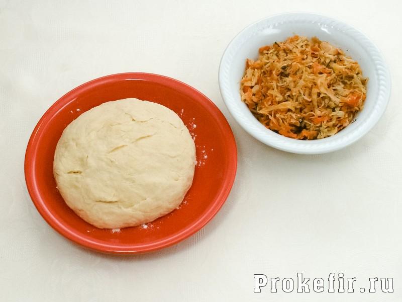 Вареники с квашеной капустой рецепт на кефире: фото 2