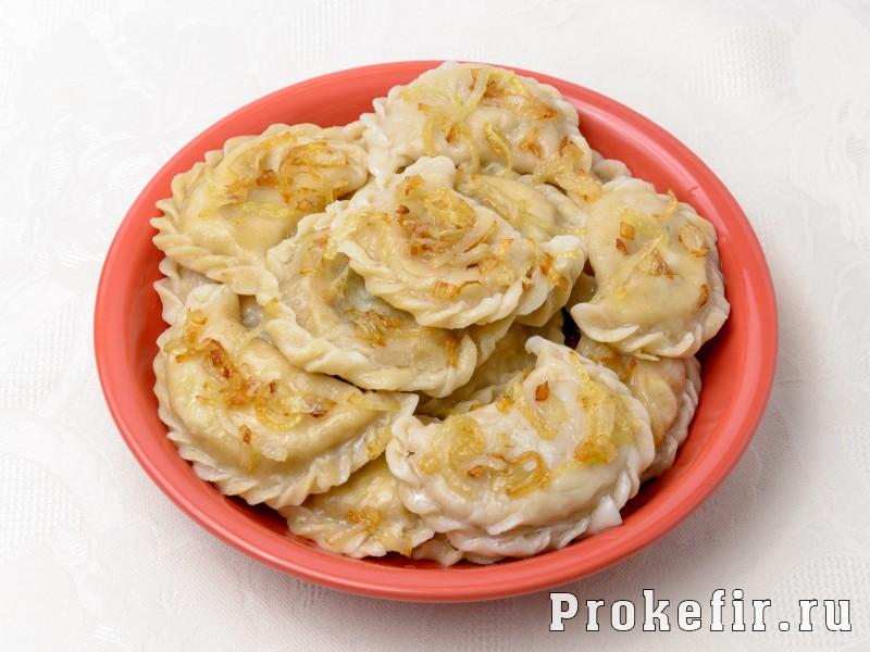 Вареники с квашеной капустой рецепт на кефире: фото 5