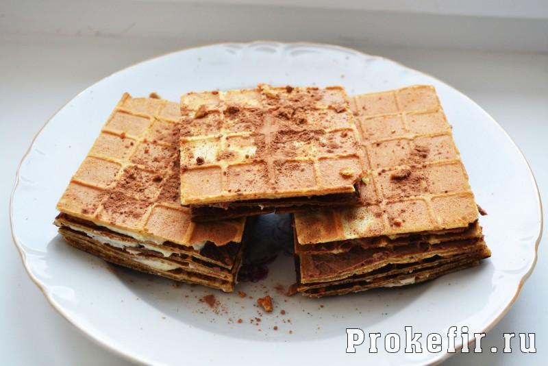 венские вафли на кефире рецепт с фото