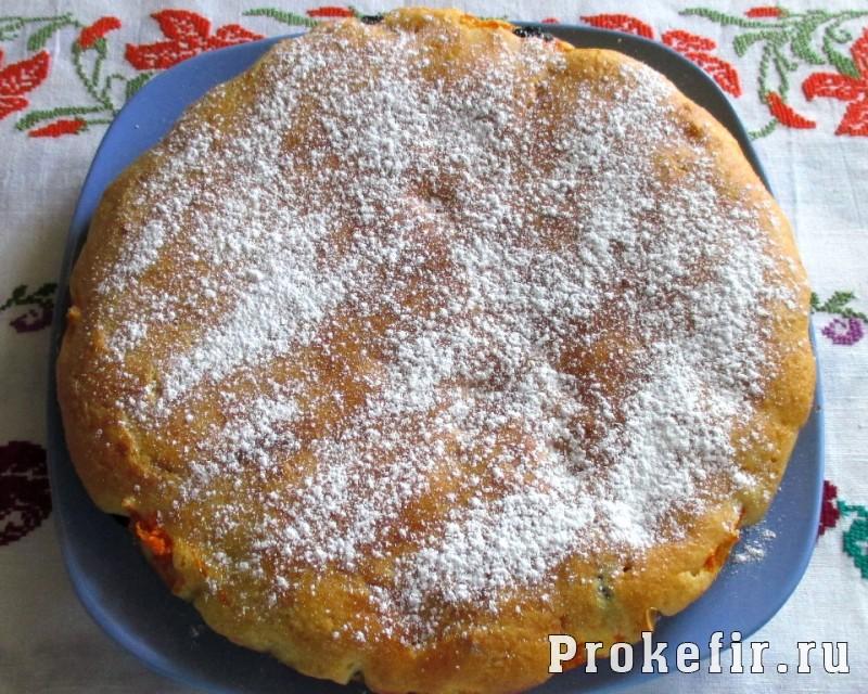 Заливной пирог с морковью на кефире: фото 18