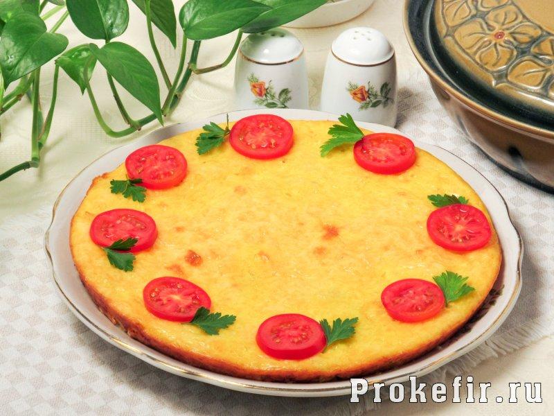 Запеканка из цветной капусты с сыром и яйцом на кефире: фото 6