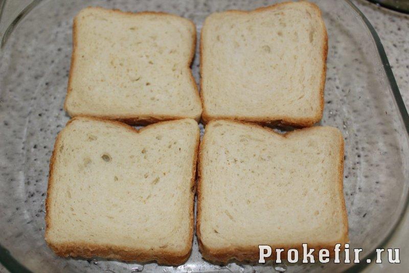Запеканка с рисом и курицей в духовке на хлебе: фото 5