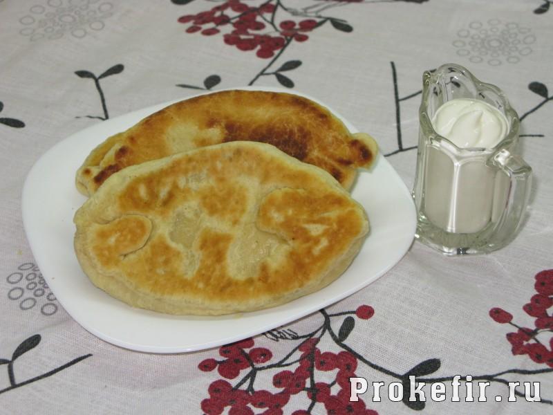Жареные пирожки на кефире из воздушного теста: фото 5