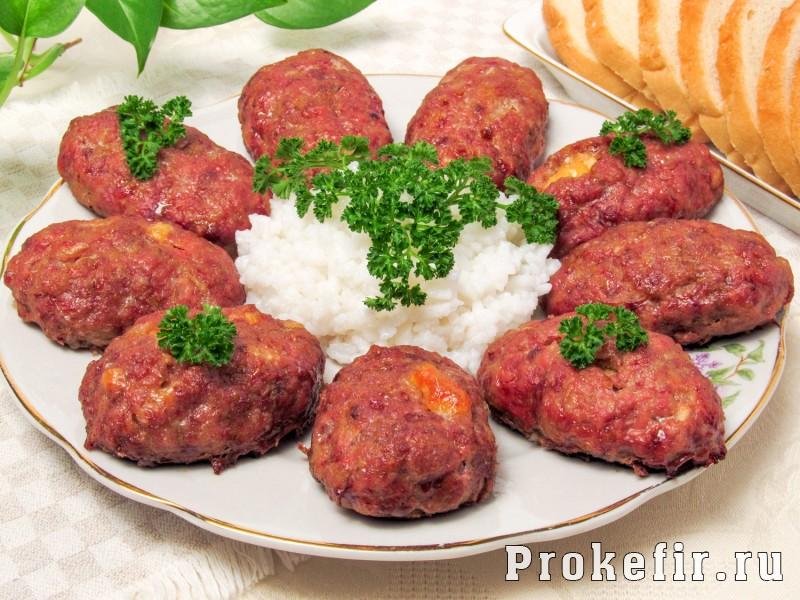 Зразы мясные с сыром: фото 7