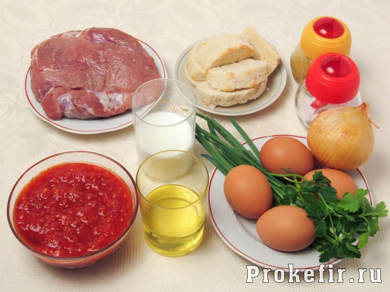 Зразы мясные с яйцом в духовке с подливкой: фото 1