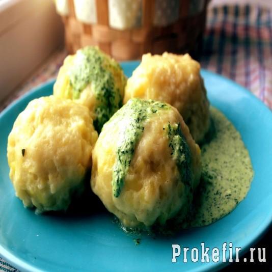 Кнедлики из картофеля